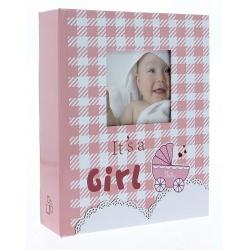 Dětské fotoalbum 10x15/304 foto NINO růžové