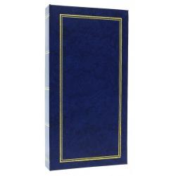 Jendnobarevné fotoalbum 10x15/200 foto modré