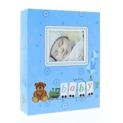 Dětské fotoalbum 10x15/304 foto LOCOTIME Modré