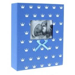 Dětské fotoalbum 10x15/200 foto MIRACLE modré