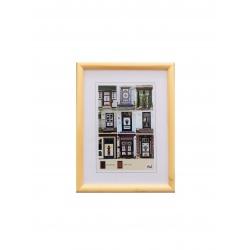 Dřevěný fotorámeček NEW YORK 30x45 natural