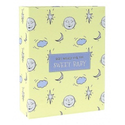 Dětské fotoalbum 10x15/100 SWEET BABY žluté