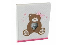 Exkluzivní dětské samolepící fotoalbum 24x29/40s SWEETY růžové
