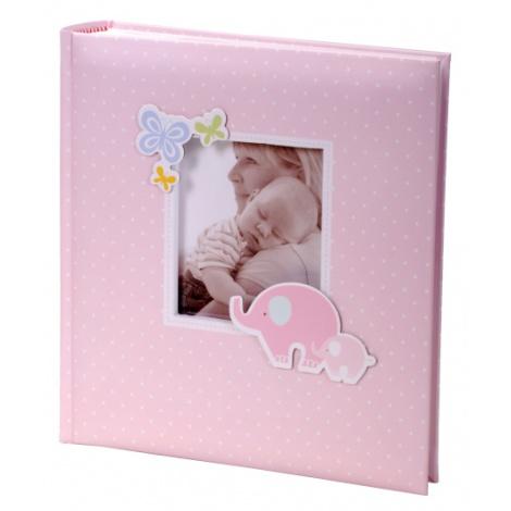 Exkluzivní dětské fotoalbum 10x15/200 foto HONEY růžové