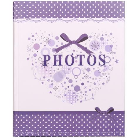 Dětské fotoalbumna růžky 22x27/60s SMART fialové