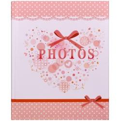 Dětské fotoalbumna růžky 22x27/60s SMART růžové
