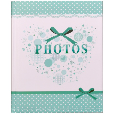 Dětské fotoalbumna růžky 22x27/60s SMART zelené