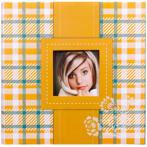 Fotoalbum na růžky 30x30/100 stran FRESH COLOUR žluté