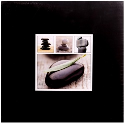 Fotolbum na růžky 30x30/100s. STONES černé