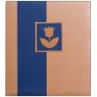 Fotoalbum na růžky NATURAL LINE 30x33/80s. modré