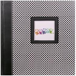 Fotoalbum na růžky 30x30/100 stran ELEMENTS černé