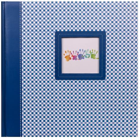 Fotoalbum na růžky 30x30/100 stran ELEMENTS modré