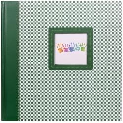 Fotoalbum na růžky 30x30/100 stran ELEMENTS zelené