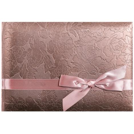 Fotoalbum na růžky 24x16cm/60s. bronze
