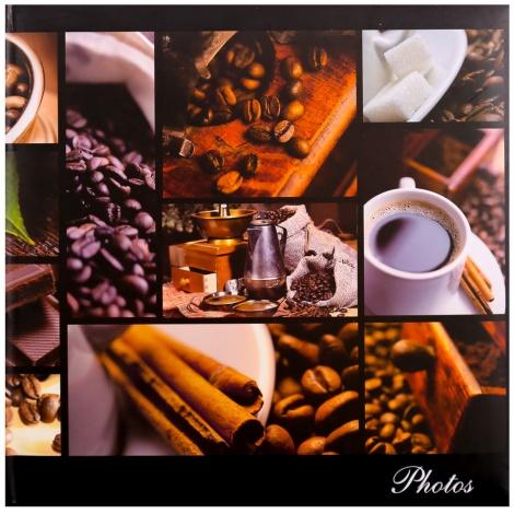 Fotoalbum na růžky 30x30/100 stran SILENT MOMENTS káva