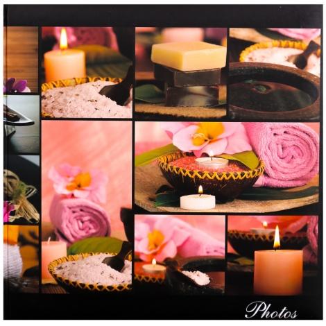 Fotoalbum na růžky 30x30/100 stran SILENT MOMENTS růž