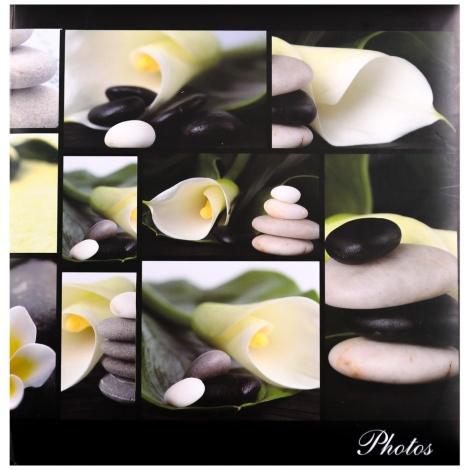 Fotoalbum na růžky 30x30/100 stran SILENT MOMENTS zelené