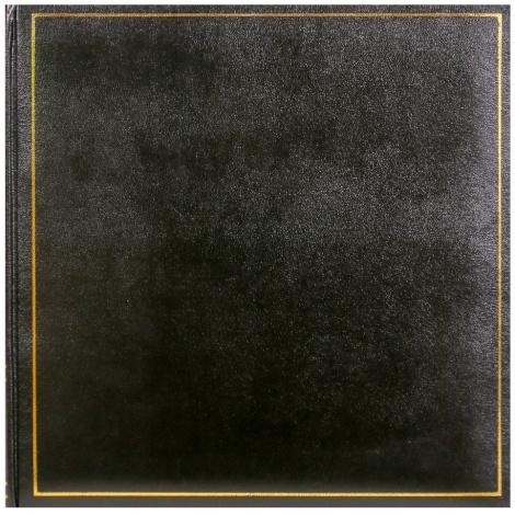 Fotoalbumna růžky 30x30/100s. TRADITION černé
