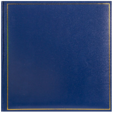 Fotoalbumna růžky 30x30/100s. TRADITION modré