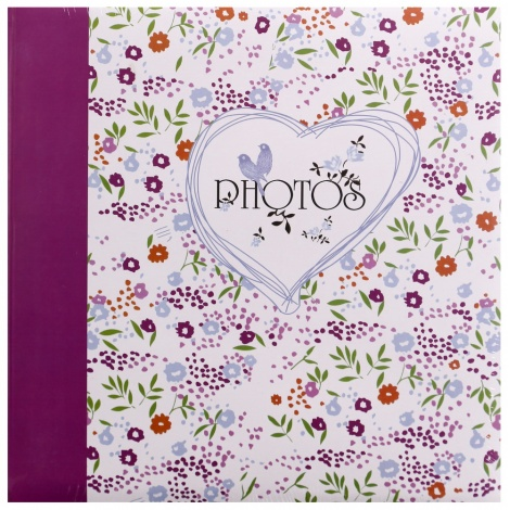Fotoalbum na růžky FIELD OF FLOWER 30x30/100s. fialové
