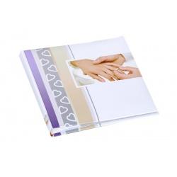 Svatební fotoalbum 13x18/50foto popis WEDDING ruce