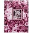 Fotoalbum 10x15/100 ANYWHERE ROSES fialové