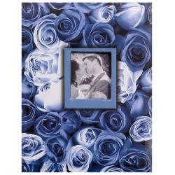 Fotoalbum 10x15/100 ANYWHERE ROSES modré