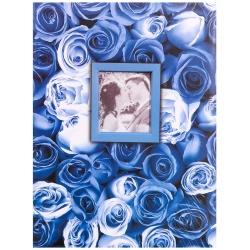 Fotoalbum 13x18/100 foto ANYWHERE ROSES modré