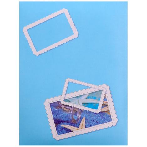Fotoalbum 10x15/100 SIGNAL modré