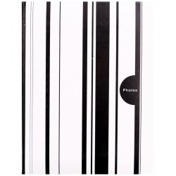 Fotoalbum 10x15/100 foto COLOR STRIPES černé