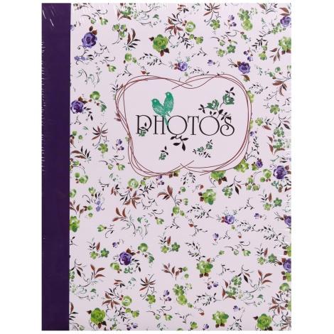 Fotoalbum 10x15/100 foto FIELD OF FLOWERS fialová