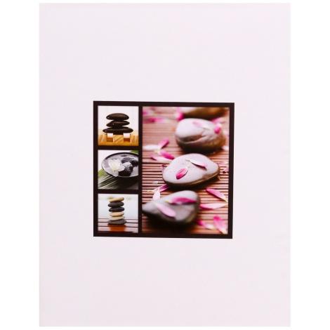 Fotoalbum 13x18/200 STONES bílé