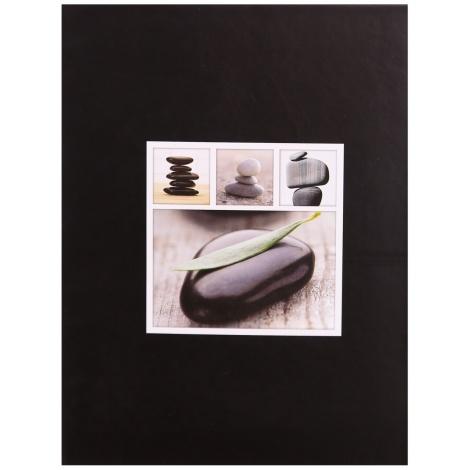 Fotoalbum 13x18/200 STONES černé