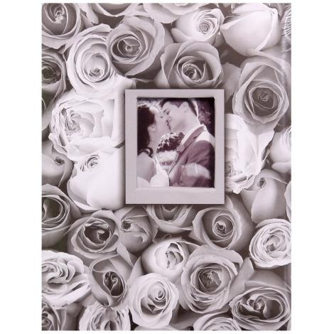 Fotoalbum 10x15/200 foto s pop. ANYWHERE ROSES šedé