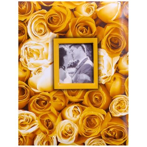 Fotoalbum 10x15/200 foto s pop. ANYWHERE ROSES žluté