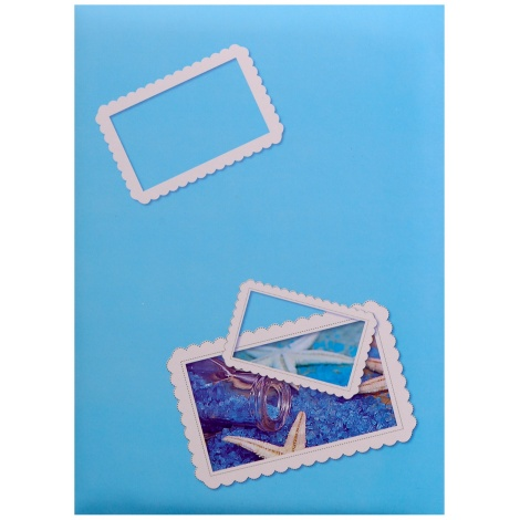 Fotoalbum 10x15/200 foto SIGNAL modré