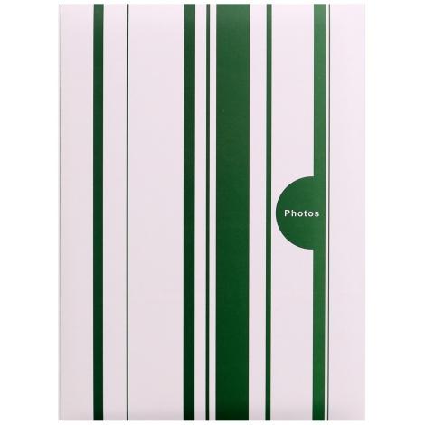 Fotoalbum 10x15/200 foto pop. COLOR STRIPES zelené