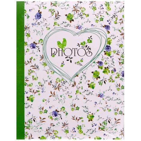 Fotoalbum 10x15/200 foto pop FIELD OF FLOWERS zelená