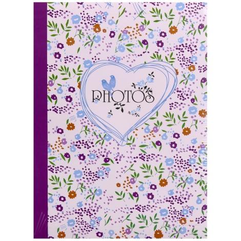 Fotoalbum 10x15/300 foto s poopisem FIELD of FLOWERS vínová