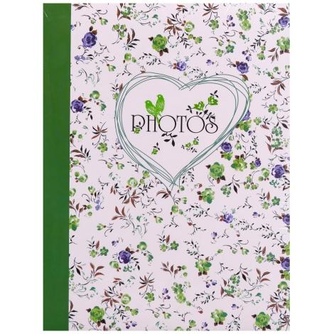 Fotoalbum 10x15/300 foto s poopisem FIELD of FLOWERS zelená