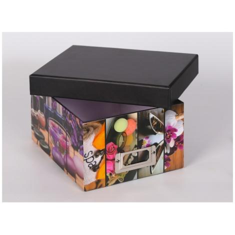 Krabice na foto 10x15/700 foto SILENT MOMENTS růžová