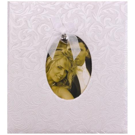 Svatební fotoalbum na růžky GRACE stříbrné