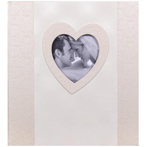 Svatební fotoalbum na růžky POESIE 29x32/60s. světlé