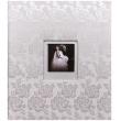 Svatební fotoalbum na růky WEDDING ROSES stříbrné