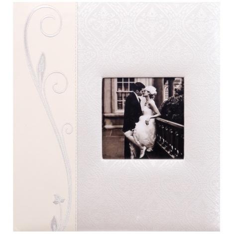 Svatební fotoalbum na růžky WEDDING LINE