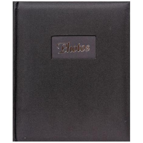 Fotoalbum na růžky 22x27cm/60s. DeLuxe černé