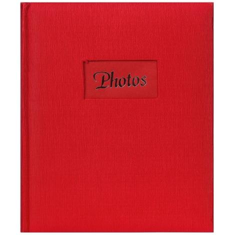 Fotoalbum na růžky 22x27cm/60s. DeLuxe červené