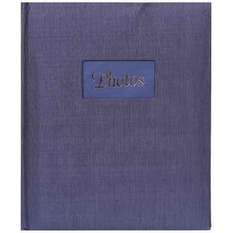 Fotoalbum na růžky 22x27cm/60s. DeLuxe modré
