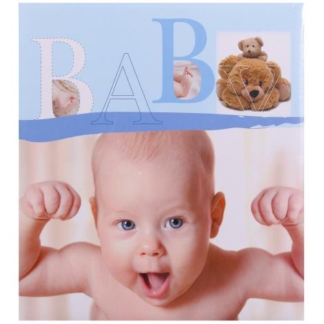 Dětské fotoalbum na růžky BABY VITAL modré