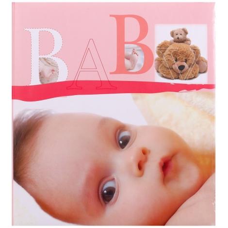 Dětské fotoalbum na růžky BABY VITAL růžové